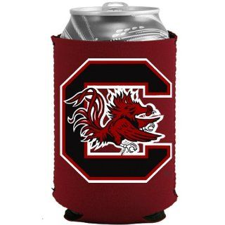 NCAA South Carolina Gamecocks Garnet Collapsible Can
