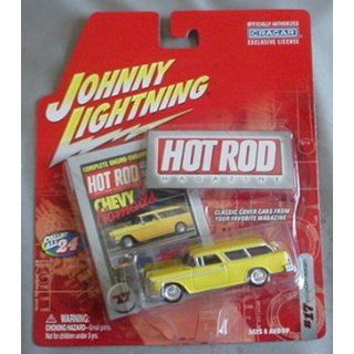 Johnny Lightning Hot Rod Magazine 1955 Chevy Nomad Wagon