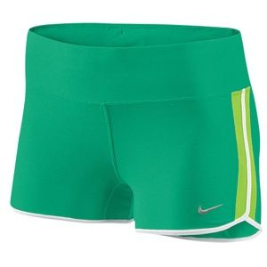 Nike 2 Boy Short   Womens   Running   Clothing   Stadium Green/Elec