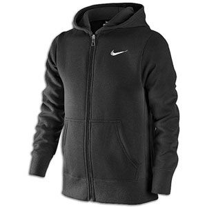 Nike Classic Fleece Swoosh Full Zip Hoodie   Boys Grade School