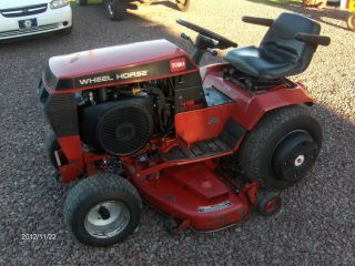 Toro Wheel Horse 416H Garden Tractor with 48 Deck Very Nice