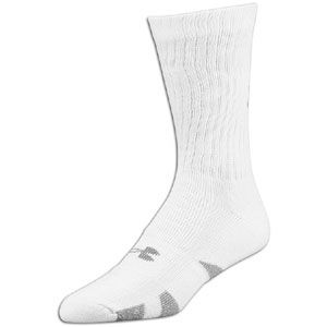 Under Armour Heatgear Crew 4 Pack Socks   Mens   Training