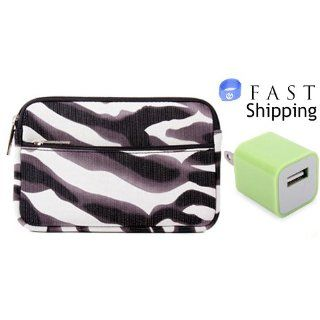 Visual Land Prestige 7 Tablet Zebra Maze Neoprene Sleeve
