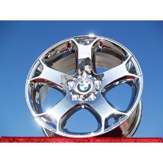 BMW X5 SportStyle 131 Set of 4 genuine factory 18inch chrome wheels