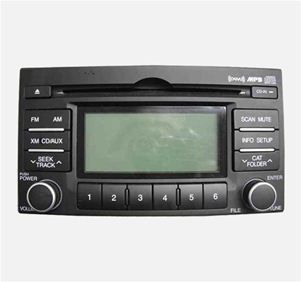 07 08 09 10 11 Hyundai Accent Single Disc CD  Player Radio XM Ready