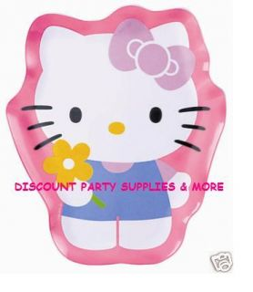 Hello Kitty Shaped Plastic Melamine Dinner Plate