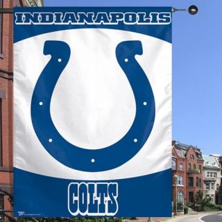 Team Logo NFL Indianapolis Colts Vertical Flag Banner 27 x 37 Brand
