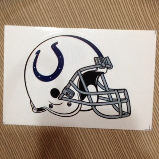 Indianapolis Colts Helmet Sticker
