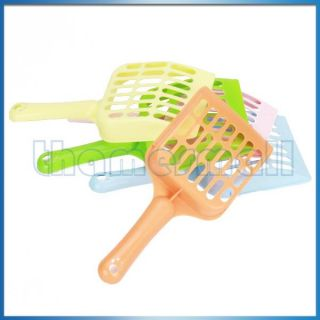 Plastic Cleaning Litter Tray Scoop for Pet Cat Dog Puppy Indoor