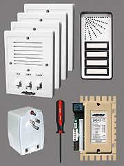 Unit Apartment Intercom System Complete Kit w Wire