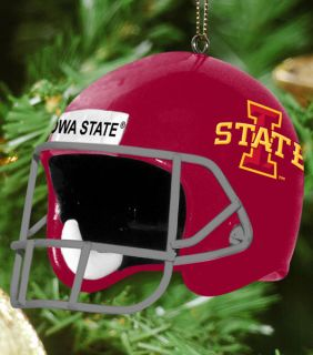 Iowa State Cyclones Team Helmet 3 Ornament