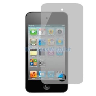 Glare Matte LCD Screen Protector Accessory for iPod Touch 4th Gen 4G 4