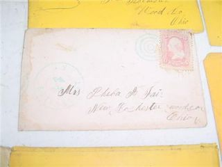 RARE Civil War Letters Pvt Isaac M Fair 21st Regiment Ohio Infantry