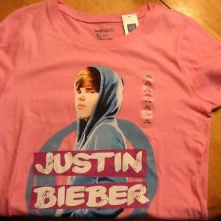 Gap Kids Justin Bieber Girls Top Tee 12