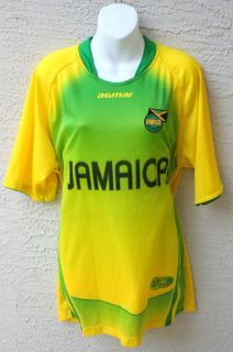 New Jamaica Football Federation Soccer Agmar Jersey Shirt Men XL