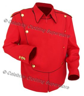 /MJ Pics/michael jackson military jackets/MJ red military jacket