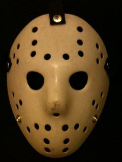JASON VOORHEES vs MYERS MICHAEL PROP REPLICA MASK blank white old