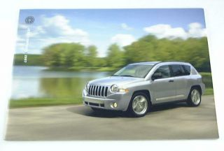 Original 2007 Jeep Compass Truck Suv Brochure. Covers the Sport and