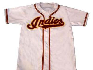 Name Indios de Mayaguez Puerto Rico Jersey Button White Any Name