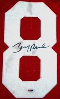 Jerry Rice Signed Auto SF 49ers TB Jersey Pic PSA