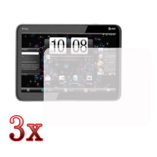 3x Clear LCD Screen Protector Film Guard For HTC Jetstream 10 1 Tablet