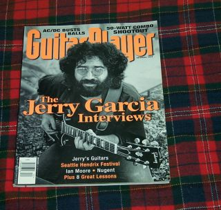 Guitar Player Magazine Jerry Garcia Interview