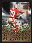 Collection Cramers Choice Award Lot 3 Jerry Rice, Carter, Sanders