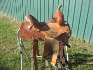 Corriente 13 5 Trophy Barrel Racing Saddle Used