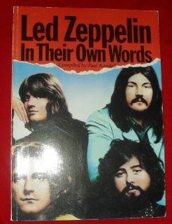 Zeppelin in Their Own Words Jimmy Page Robert Plant John Bonham