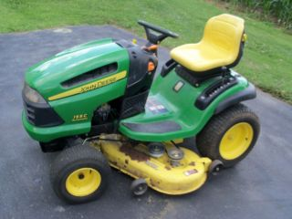 John Deere 155C Lawn Tractor Riding Mower