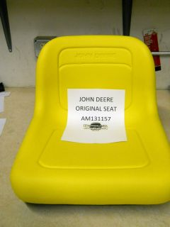John Deere Original Seat Fits LX200 Series GT200 Series and More