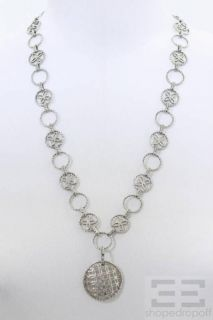 John Hardy Sterling Silver Link Pendant Necklace
