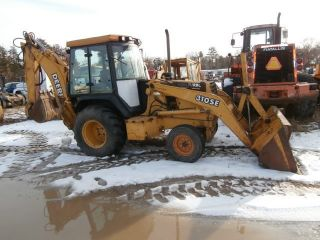 2WD John Deere 310SE Extendahoe Backhoe Loader Extend A Hoe Enclosed Cab 310 SE