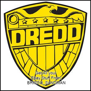 Fridge Fun Refrigerator Magnet Judge Dredd Badge Version A Die Cut