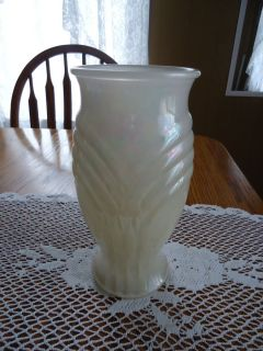 FTD Lustre Finish Large Glass Flower Vase