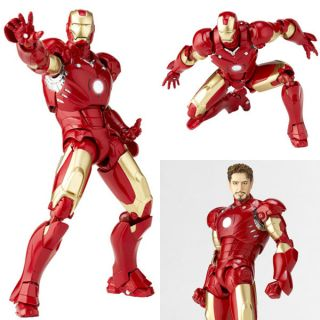 Kaiyodo Revoltech Tokusatsu 036 Iron Man Mark 3 Action Figure