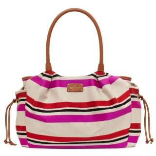 kate spade new york oak island stripe stevie baby bag multi color