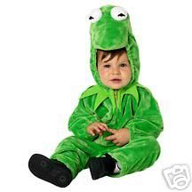 Disney Kermit The Frog Costume Outfit New 18 Month M