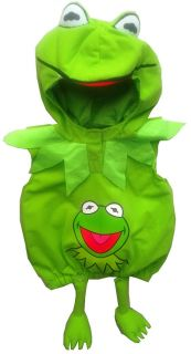 Kermit Frog The Muppets Green Monsters Fancy Dress Up Costume Party 1