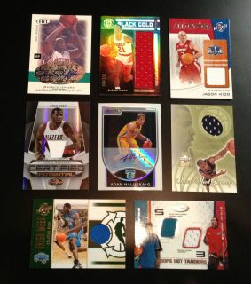 Michael Jordan LeBron James Kevin Durant Auto Jersey RC Refractor Card