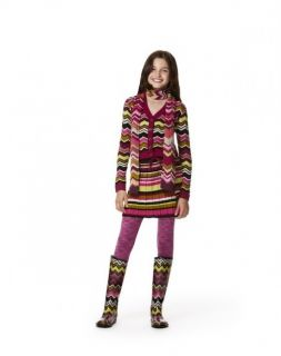 Zigzag M Chevron Cardigan Sweater and L Skirt Set Target Girls kids