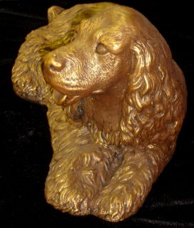 Cocker Spaniel King Charles Dog Canine Statue Sculpture 24104