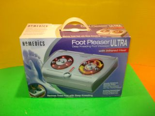 Homedics Foot PLEASER Ultra Deep Kneading Foot Massager