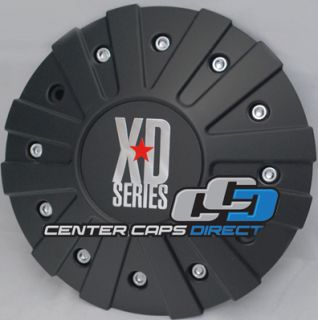 KMC XD Series Monster Center Cap Blow Out Price 846L215 Black with KMC
