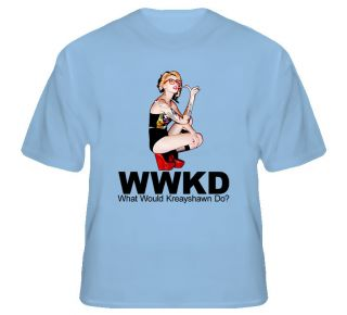 WWKD What Would Kreayshawn do Hip Hop T Shirt