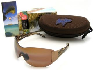 Maui Jim Kula Metallic Gloss Copper HCL Bronze Polarized H514 23 New
