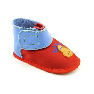 Amour 27154 Infant Baby Boys Size 2 Red Synthetic Booties Shoes