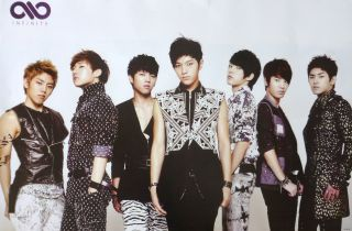 All Dressed Up Poster from Asia Korean Boy Band K Pop Music