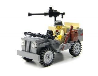 Custom Lego Willys World War 2 Jeep Army Builder Complete Set