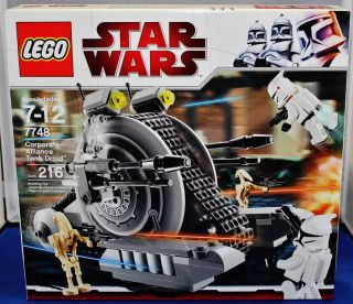 Lego Star Wars 7748 Corporate Alliance Tank Droid Brand New